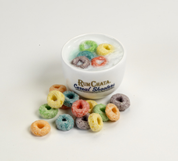 RumChata Cereal Bowl Shot Glasses