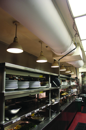 Restaurant Kitchen Air Conditioning san francisco restaurant solves cooking hood draft challenges with
