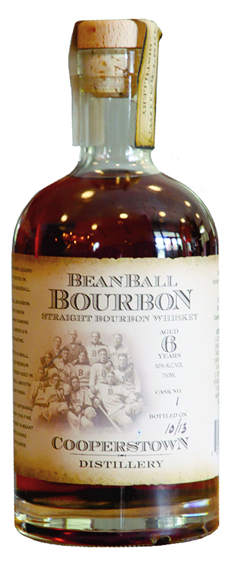 Beanball Bourbon bottle