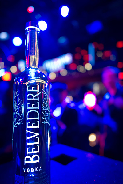 Belvedere Vodka Rings In The New Year With Silver Saber