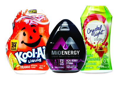 Boost Water Sales with Top-Selling Flavor Enhancers – MiO, CRYSTAL LIGHT and KOOL-AID