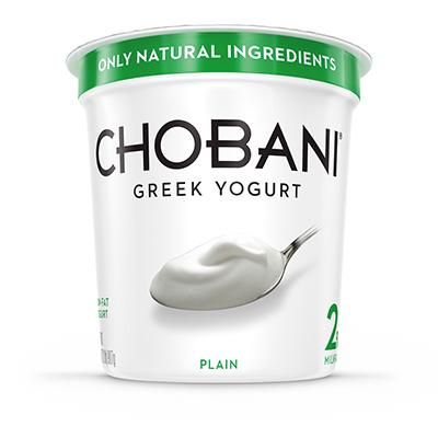 Chobani PLAIN Low-Fat Multiserve 32oz
