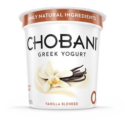 Chobani VANILLA blended Multiserve 32oz