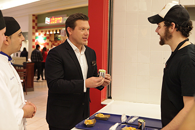 Tyler Florence Returns To Help Culinary Entrepreneurs Compete For Chance To Win A Food Court Restaurant, In New Season Of Food Court Wars