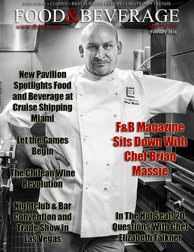 Cover Star Acclaimed Chef Brian Massie Graces Cover Of