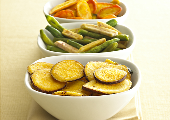 Chips, Carrot Chips, Barbecue Cucumber Chips, Sweet Potato Chips ...