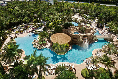 Pool - Seminole Hard Rock ( Courtesy Hard Rock Cafe International
