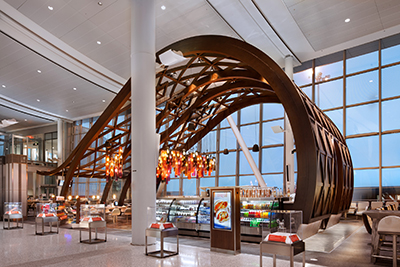 Icrave airport designs take off with recent award for International hotel design