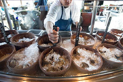 Waterbar restaurant announces oyster give back campaign for Food 101 bar bistro