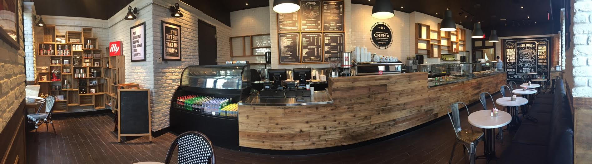 Crema Gourmet Espresso Bar Opens in Coral Gables