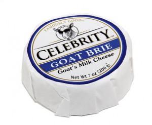 Celebrity Goat Brie Goat's Milk Cheese