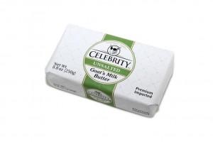 Celebrity Unsalted Goat's Milk Butter