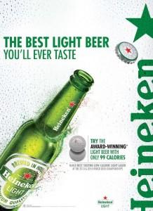 Heineken Light To Expand Reach Through Tasting Light Program