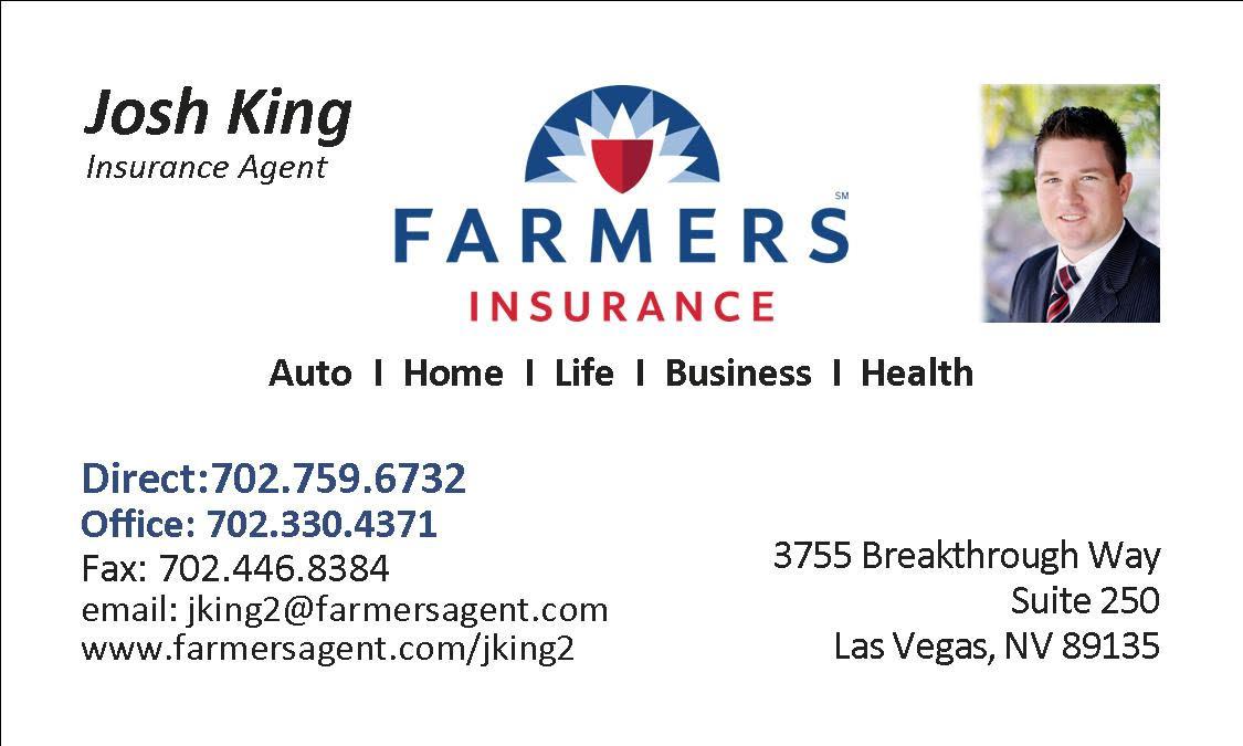 Josh King Farmers Insurance Agent