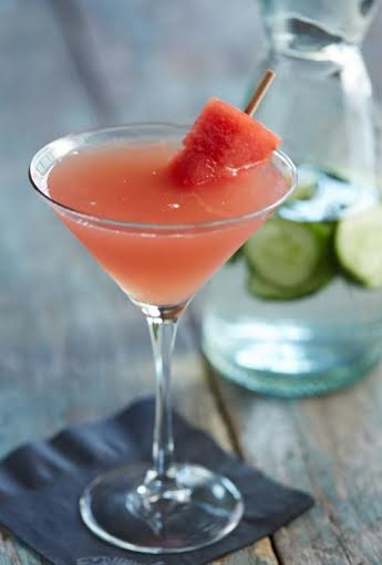 Fresh Watermelon Martini