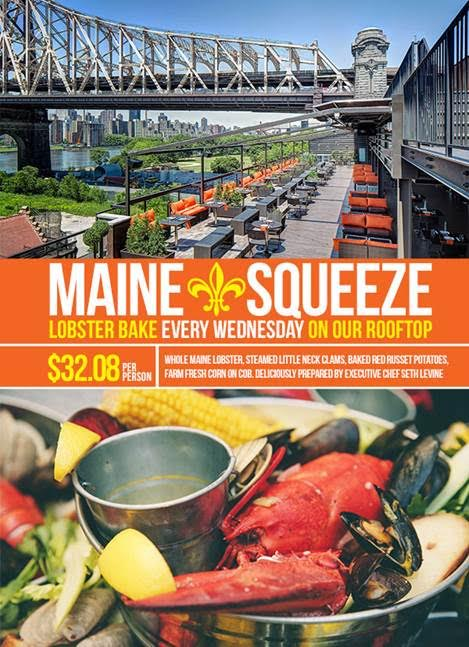 Penthouse808 at Ravel Hotel Launches the Maine Squeeze Lobster Bake TONIGHT!!!