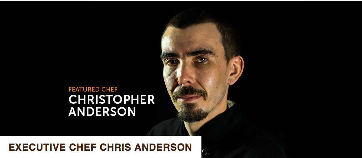 F&B Magazine : Chef of the Month ~ Christopher Anderson