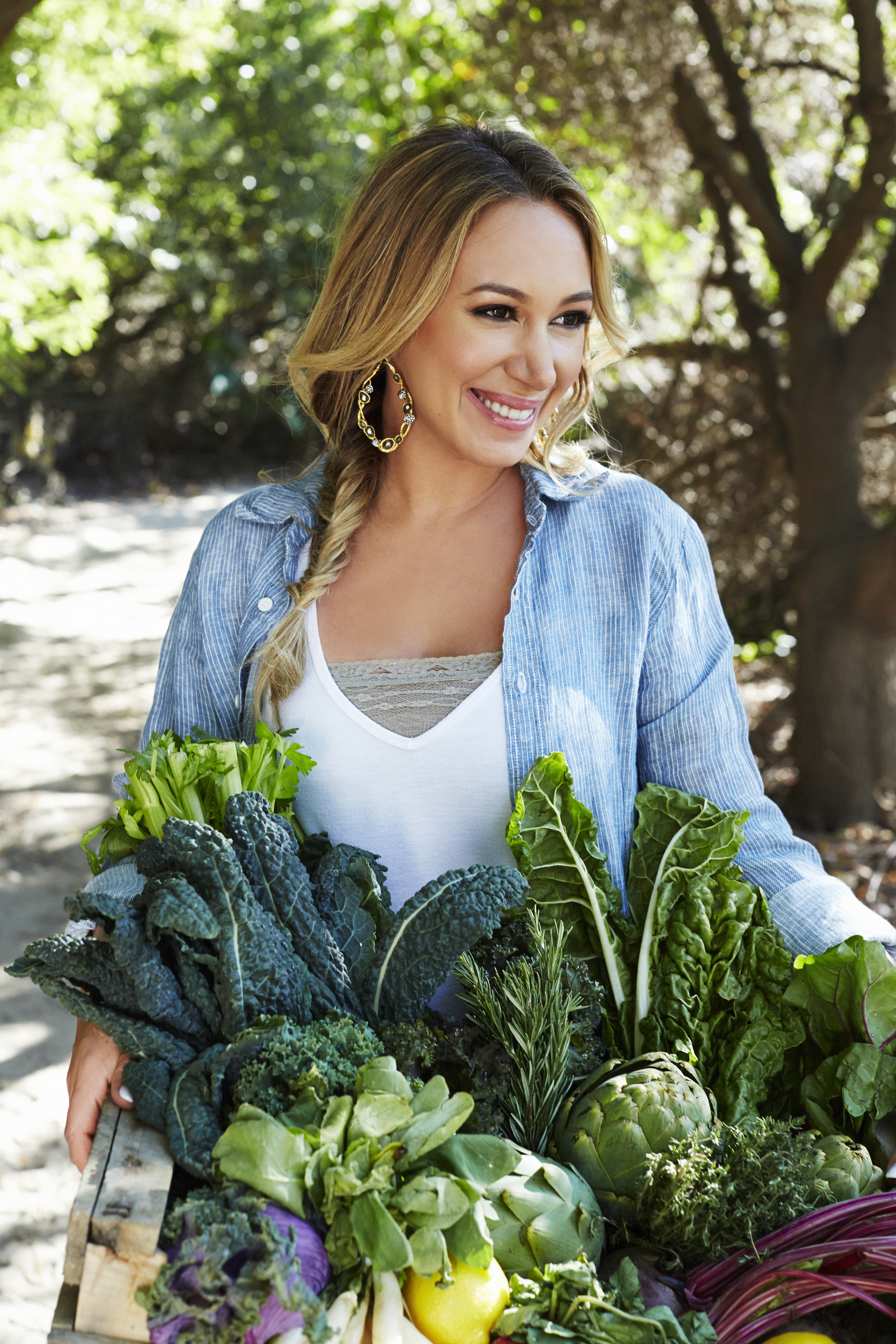 Haylie Duff Star Of The Real Girl S Kitchen Food Beverage Magazine