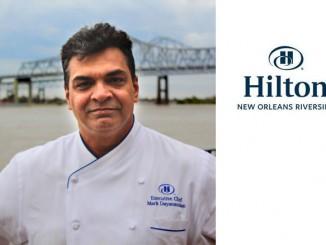 New Exec Chef and F&B Team at Hilton New Orleans Riverside