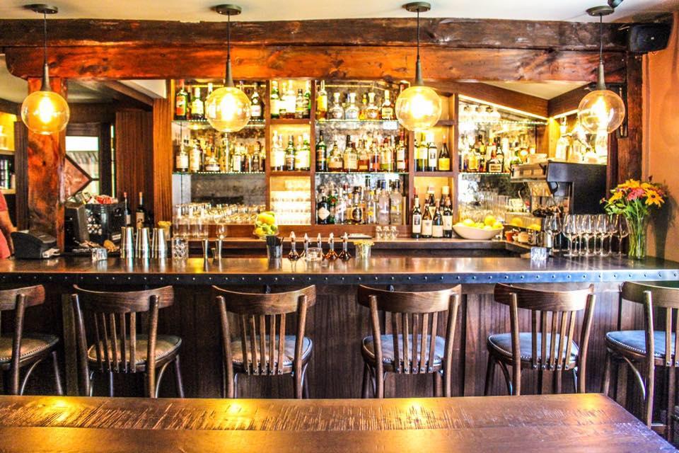 The velveteen habit a farmhouse restaurant bar food for Food 101 bar bistro