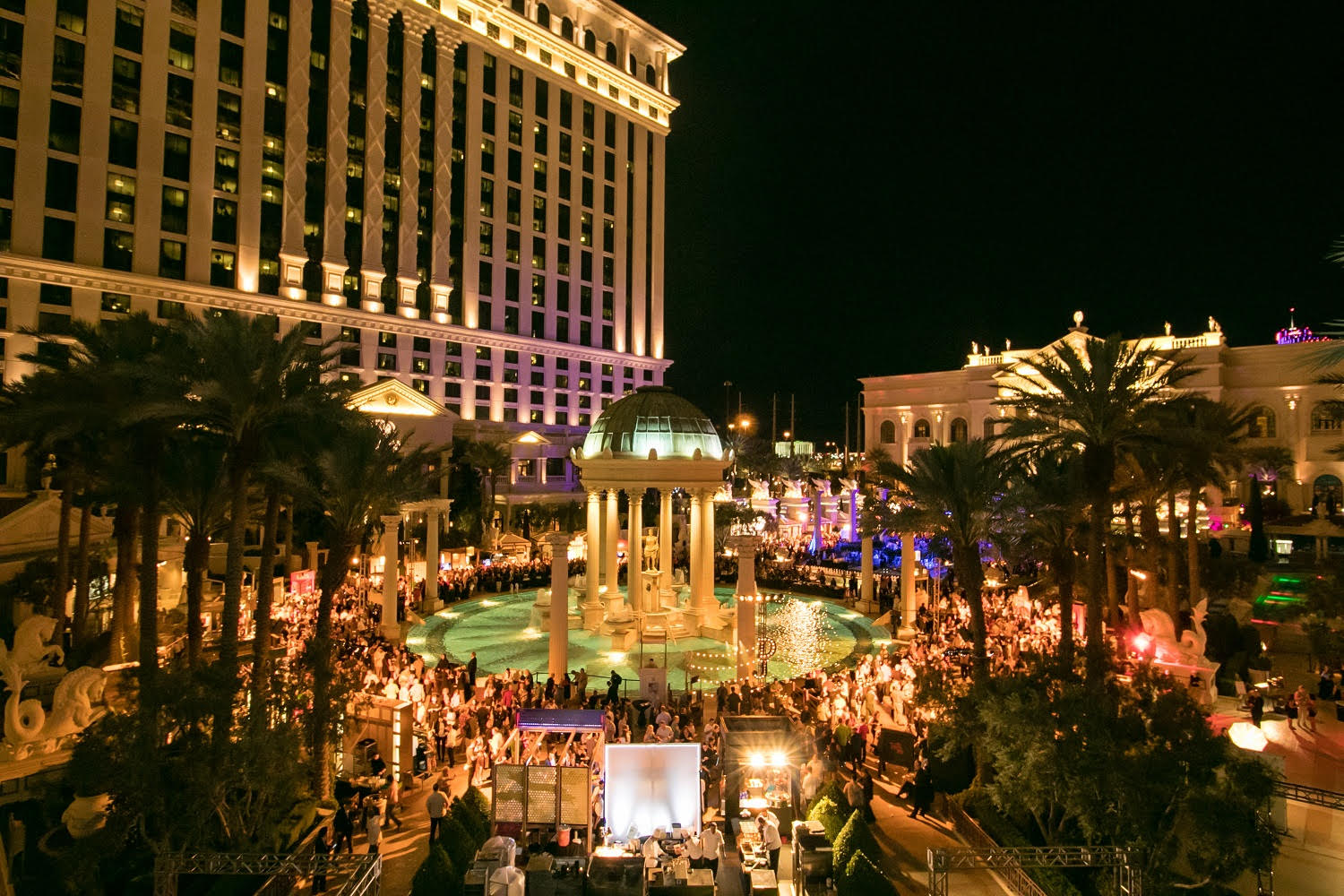Day two of vegas uncork d by bon appetit food beverage for Garden of gods pool oasis