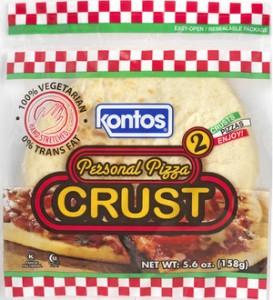 kontos pizza crust