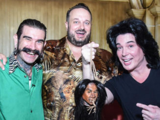 The Baron, Branden Powers, managing partner of The Golden Tiki, and Frank Marino