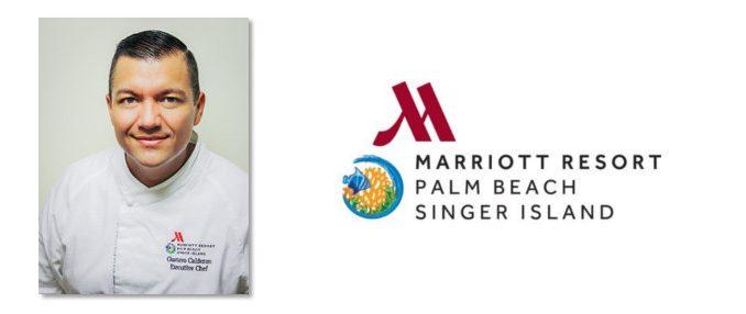 Palm Beach Marriott Singer Island names Gustavo Calderon executive chef