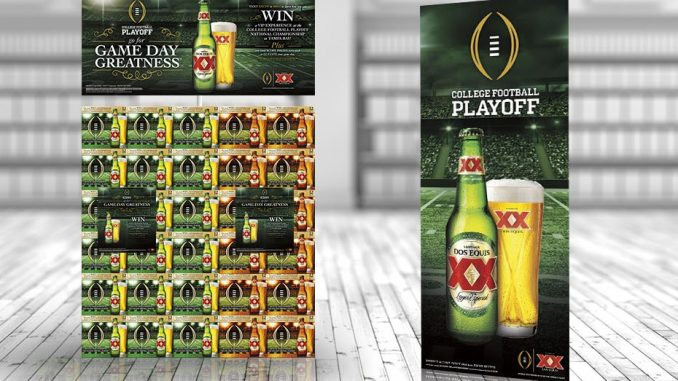 Dos Equis Encourages College Football Fans to Go For Game Day Greatness With New Fall Program