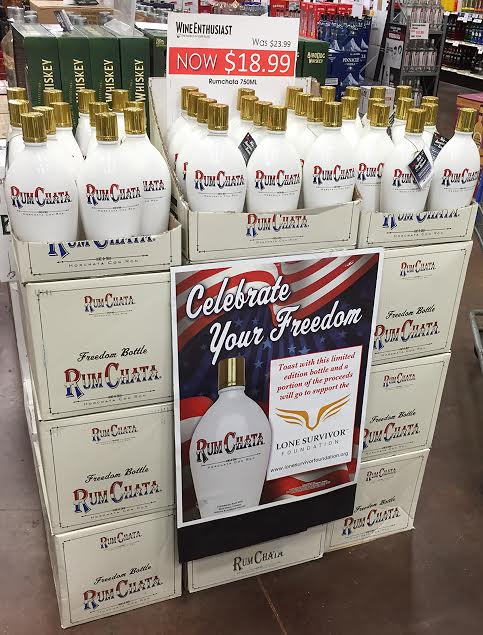 rumchata-freedom-bottle-display
