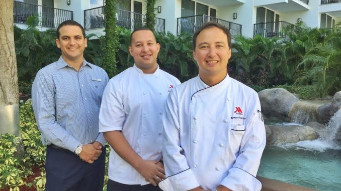 Teddy Bouroncle has been promoted to Director of Food and Beverage Operations; Chef Romeo Penacino as Complex Executive Chef; Chef Ever de Peña as Complex Executive Sous Chef.
