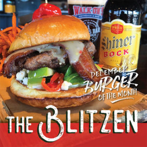 Walk-On's Sleighs The Holidays With New Burger