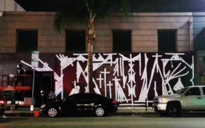 Station1640 Artist Mural Installation Takeover to Revamp Hollywood Venue