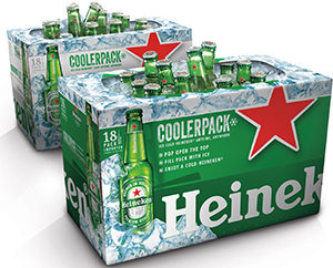 """Heineken® 18-Bottle """"Just Add Ice"""" Coolerpack Named 2018 Product Of The Year"""
