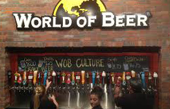 World Of Beer Toasts National Beer Day By Serving America's First Customizable, Personalized Pints
