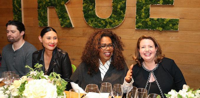 Oprah Surprises Guests At True Food Kitchen Food Beverage Magazine
