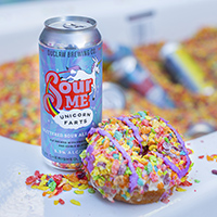 Lizzo-inspired Fruity Pebbles Bathtub Shots To Promote  Unicorn Farts beer
