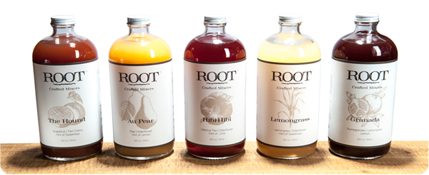 ROOT Crafted Cockail Mixers: Two Moms, a Shaker, and a Dream