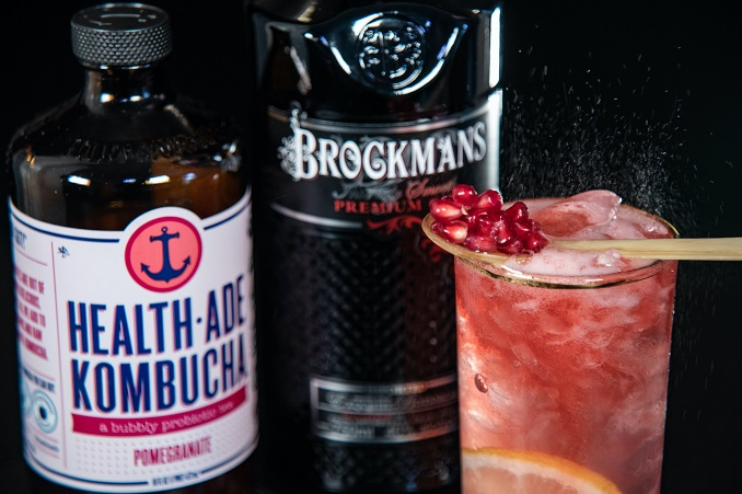 BROCKMANS GIN & HEALTH-ADE KOMBUCHA SERVE UP UNEXPECTEDLY TASTY & REFRESHING NEW YEAR'S RESOLUTION COCKTAILS