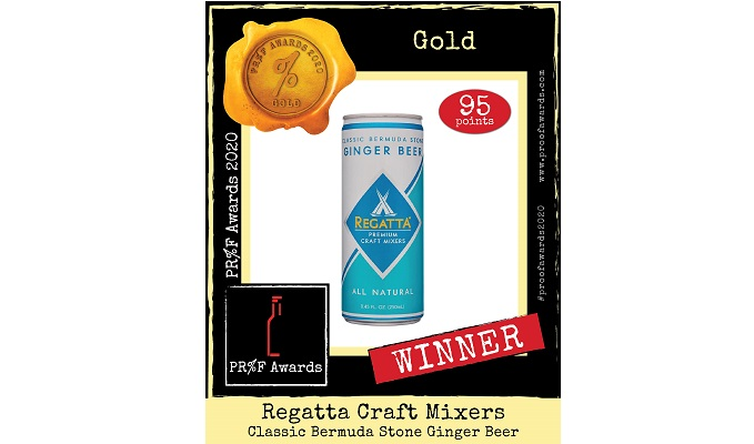 REGATTA CRAFT MIXERS TAKE HOME FIVE AWARDS AT PRESTIGIOUS PR%F SPIRITS COMPETITION