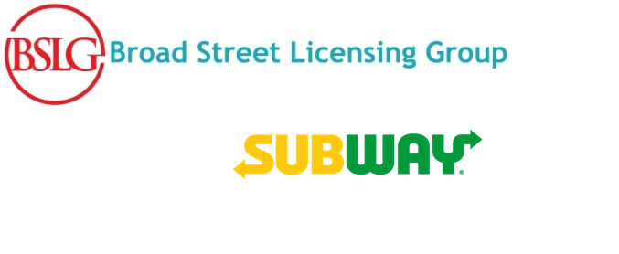 Subway® Restaurants Partners with Broad Street Licensing Group  To Deliver Licensed Products to Fans Globally