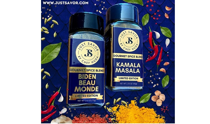 Celebrity Chef Huda Launches New JUST SAVOR® Spice Line and Limited Edition Collection To Honor President Joseph Biden and Vice President Kamala Harris
