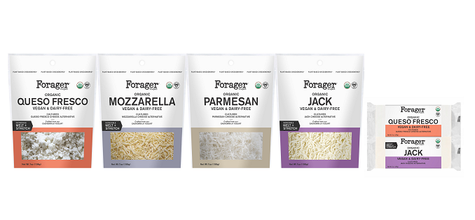 Forager Project Unveils New Line of Organic, Plant-Based Cheeses