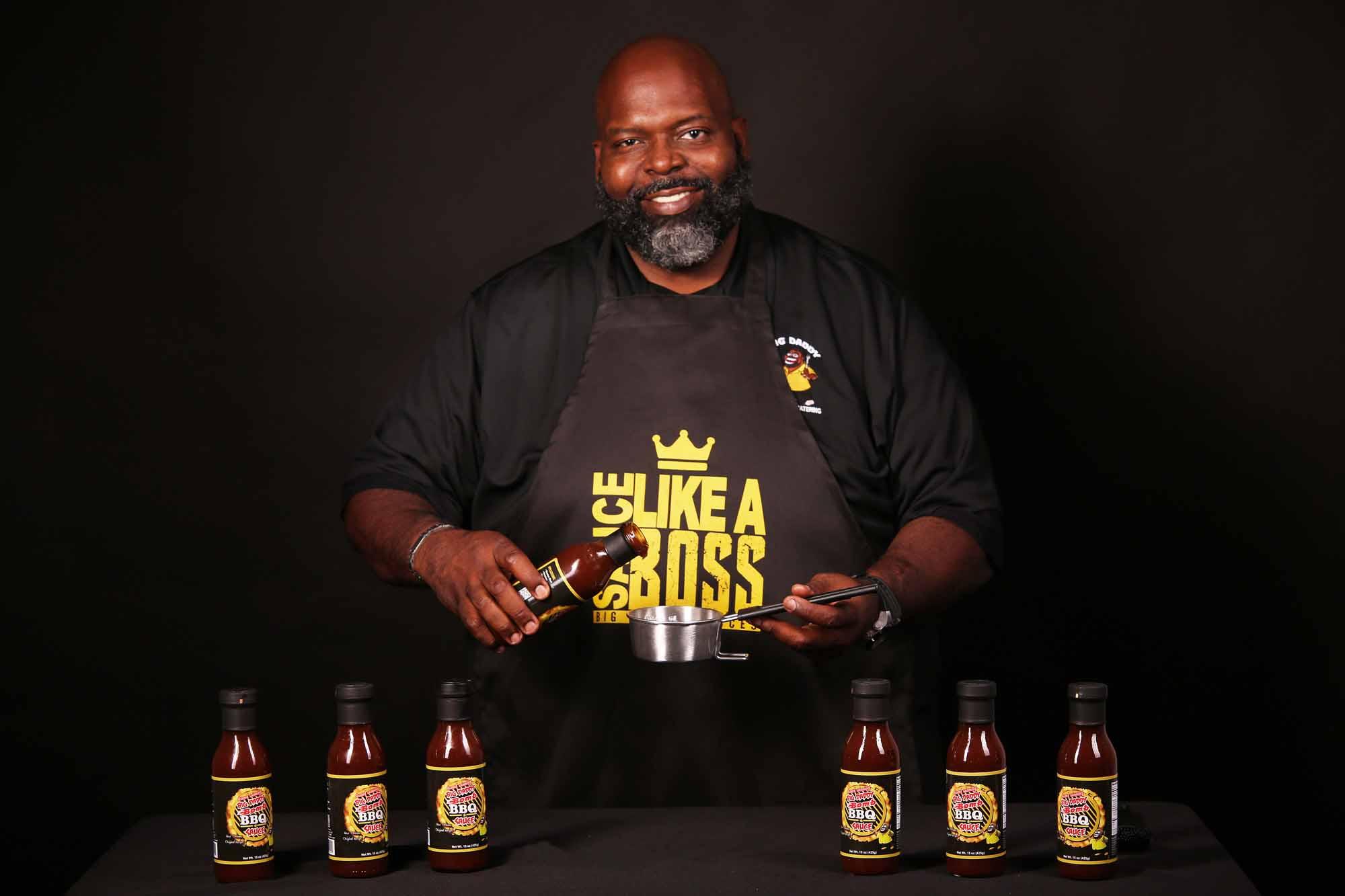 """Dwayne """"Big Daddy"""" Thompson—Big Daddy Bomb BBQ Sauce: Alabaster, AL"""