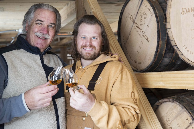 Dancing Goat Distillery Opens First Open-Air Rickhouse in Wisconsin