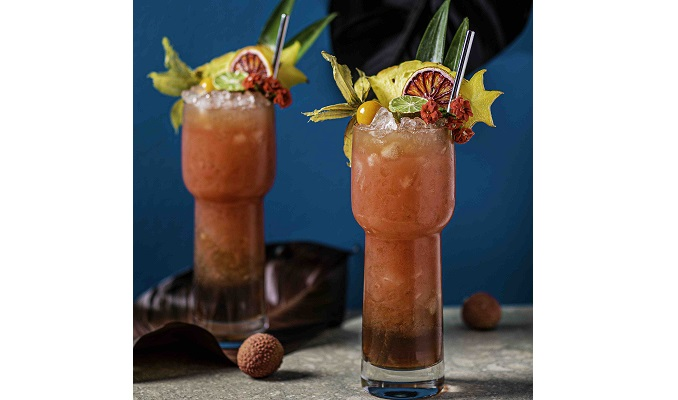 REGATTA CRAFT MIXERS AND @THE.SAUCERESS WELCOME THE ARRIVAL OF SPRING TIKI-STYLE!
