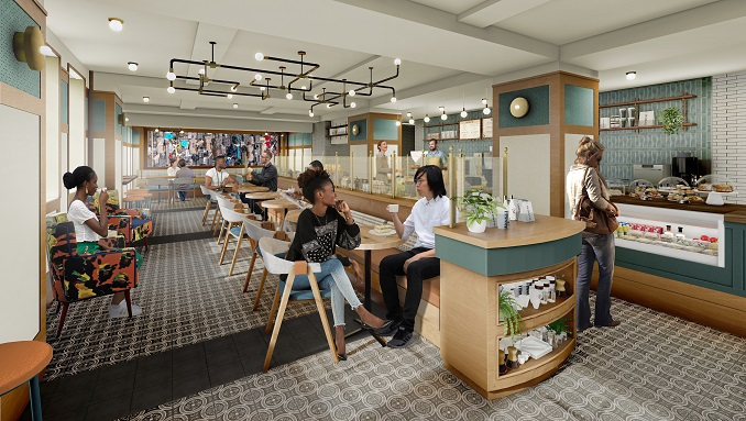 HOTEL REVIVAL REVIVES FIRST-FLOOR RESTAURANT SPACE WITH NEW CAFÉ NAMED 'DASHERY, EXPECTED TO OPEN IN THE SECOND QUARTER OF 2021