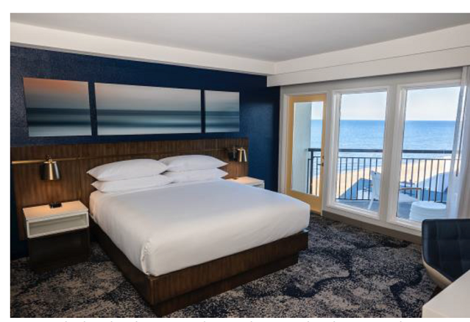 DELTA HOTELS BY MARRIOTT VIRGINIA BEACH BAYFRONT SUITES OPENS AS THE FIRST PROPERTY ON THE CHESAPEAKE BAY WITH ITS OWN PRIVATE BEACH