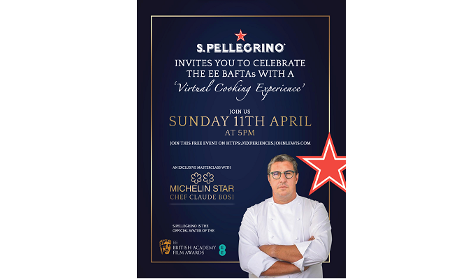 Dine in with Claude Bosi & the stars at the EE BAFTAs 2021