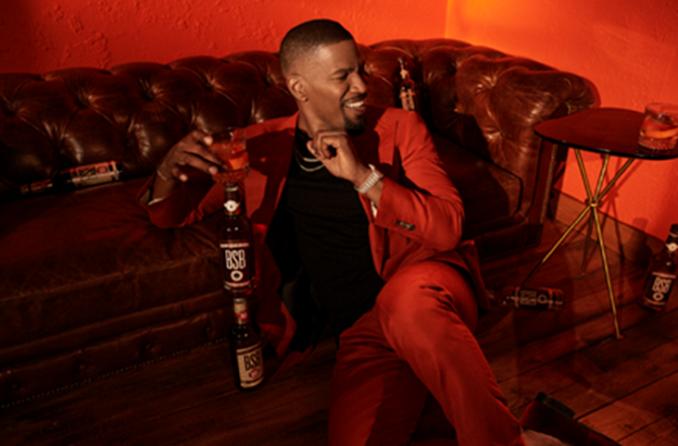Flavored Whiskey Brand BSB-Brown Sugar Bourbon Announces Jamie Foxx as Owner